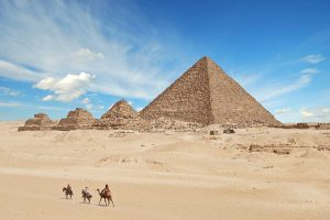 Pyramids of Giza, River Nile, Sphinx and the mega city of Cairo – Port Said and Alexandria are your portals to some of Egypt's must-sees